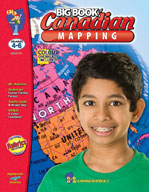 Big Book of Canadian Mapping: Grades 4-6