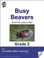 Busy Beavers Grammar Lesson Gr. 2