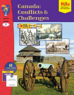 Canada: Conflicts & Challenges 1800-1850 Gr. 7 (ebook)