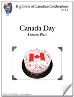 Canada Day Lesson Plan