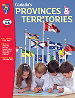 Canada's Provinces & Territories Gr. 4-6 (eBook)