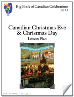 Canadian Christmas Eve and Christmas Day Lesson Plan