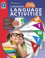 Canadian Daily Language Activities Gr. 4