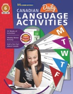 Canadian Daily Language Activities Gr. 6