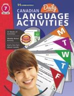 Canadian Daily Language Activities Gr. 7
