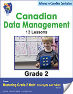 Canadian Data Management Lessons for Grade 2 (eBook)