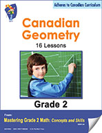 Canadian Geometry Lessons for Grade 2 (eBook)