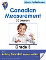 Canadian Measurement Lessons for Grade 3 (eBook)