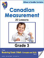 Canadian Measurement Lessons for Grade 3 (eBook)