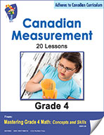 Canadian Measurement Lessons for Grade 4 (eBook)