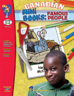 Canadian Mini Books: Famous People Gr. 2-4