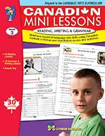 Canadian Mini Lessons - Reading, Writing, Grammar Grade 3 (ebook)