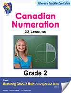 Canadian Numeration Lessons  for Grade 2 (eBook)