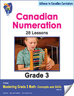 Canadian Numeration Lessons  for Grade 3 (eBook)