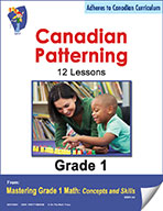 Canadian Patterning Lessons for Grade 1 (eBook)