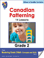 Canadian Patterning Lessons for Grade 2 (eBook)
