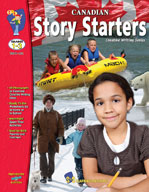 Canadian Story Starters (Grades 1-3) [Enhanced eBook]