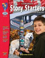 Canadian Story Starters (Grades 4-6) [Enhanced eBook]