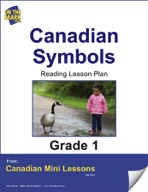 Canadian Symbols Reading Lesson Gr. 1