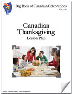 Canadian Thansgiving Lesson Plan