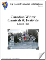 Canadian Winter Carnivals and Festivals Lesson Plan