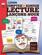 Comptes rendus de lecture-Lancons-nous! Grade 1-2