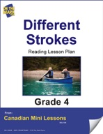 Different Strokes Reading Lesson Gr. 4