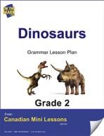 Dinosaurs Grammar Lesson Gr. 2
