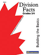 Divistion Facts Grade 3-4: Building the Basics