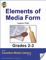 Elements of Media Form Lesson Plan Gr. 2-3
