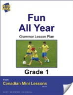 Fun All Year Spelling Lesson Gr. 1