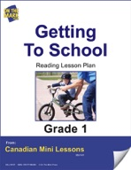 Getting to School Reading Lesson Gr. 1