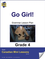 Go Girl! Writing and Grammar Lesson Gr. 4