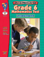 Grade 6 Math Test: Student and Parent Guide (Enhanced eBook)