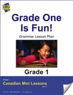 Grade One is Fun Writing and Spelling Lesson Gr. 1