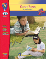 Great Brain: Novel Study Guide