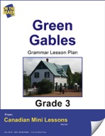 Green Gables Writing and Grammar Lesson Gr. 3