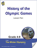 History of the Olympic Games Gr. 4-8 Lesson Plan