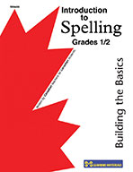Introduction to Spelling Grade 1-2: Building the Basics