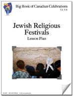 Jewish Religious Festivals Lesson Plan