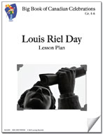 Louis Riel Day Lesson Plan