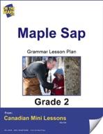 Maple Sap Grammar Lesson Gr. 2