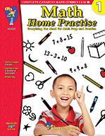 Math Home Practise Grade 1 (eBook)