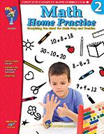 Math Home Practise Grade 2 (Enhancec eBook)