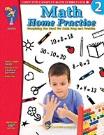 Math Home Practise Grade 2 (Enhancec eBook)