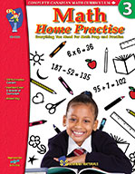 Math Home Practise Grade 3 (Enhancec eBook)