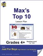 Max's Top 10 (Fiction - Social Network Style) Grade Level 2.9 e-lesson plan