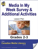 Media Survey and Additional Activities Lesson Plan Gr. 2-3
