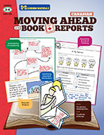 Moving Ahead With Book Reports Grade 3-4 - Canadian (eBook)