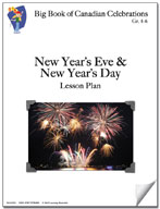 New Year's Eve and New Year's Day Lesson Plan